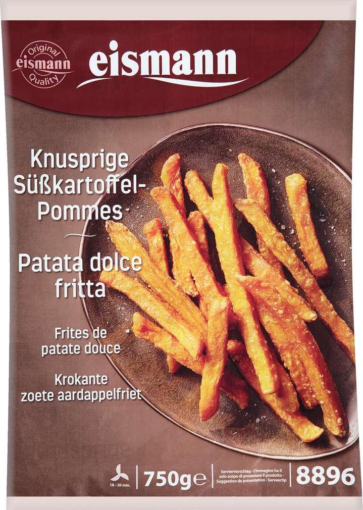 Abbildung des Sortimentsartikels eismann Knusprige Süßkartoffel-Pommes 750g