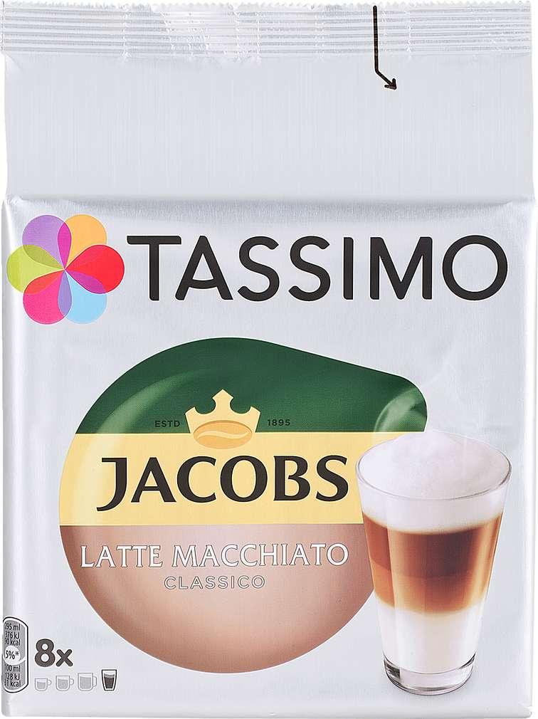 Abbildung des Sortimentsartikels Jacobs Tassimo Latte Macchiato Classico 264g, 2x8 Kapseln
