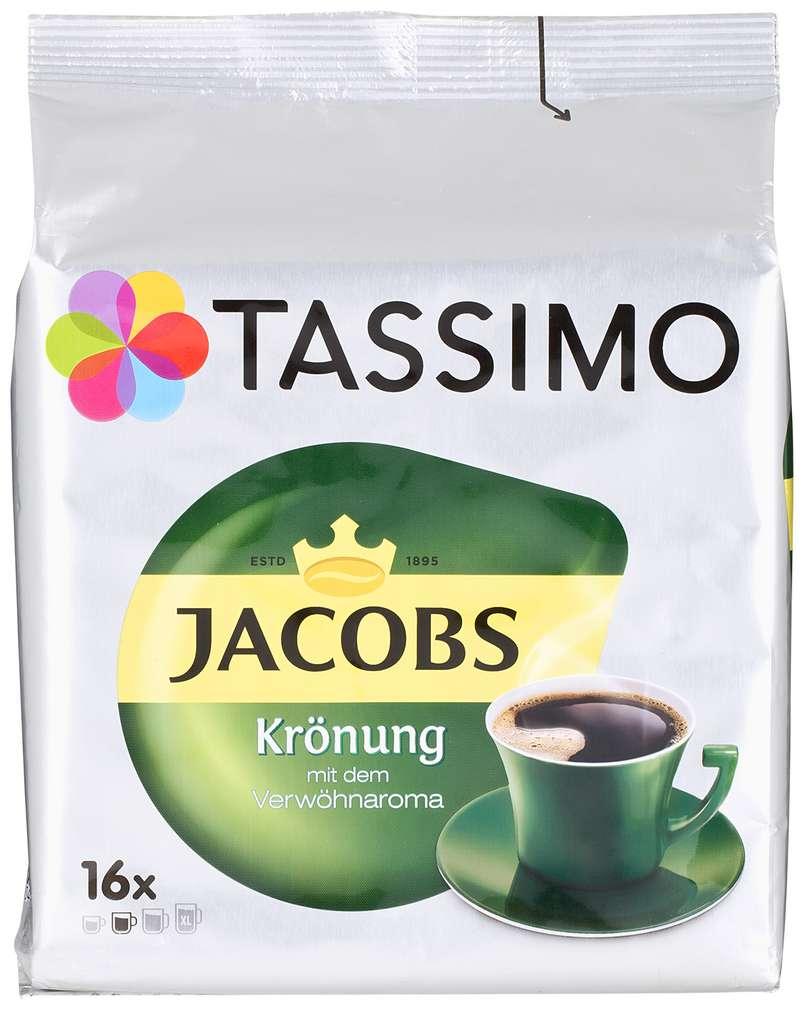 Abbildung des Sortimentsartikels Jacobs Tassimo Krönung 104g, 16 Kapseln