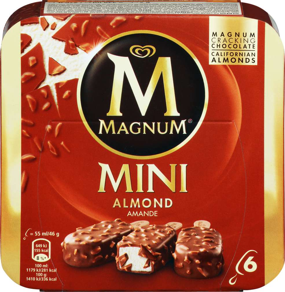 Abbildung des Sortimentsartikels Magnum Mini Mandel 330ml