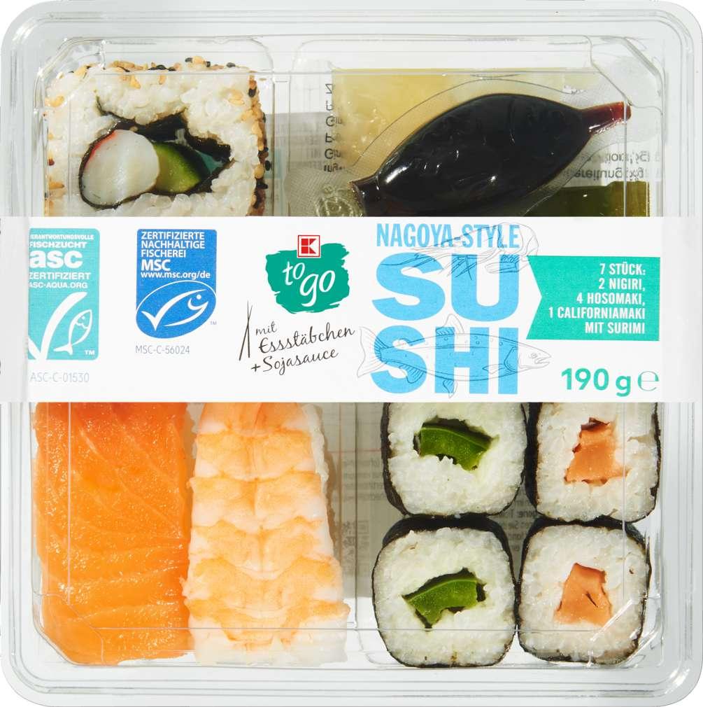 Abbildung des Sortimentsartikels K-To Go Sushi Nagoya 190g