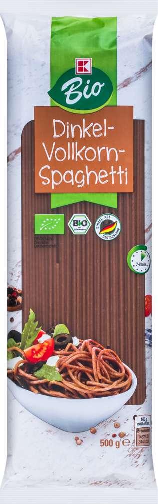 Abbildung des Sortimentsartikels K-Bio K-Bio Dinkel-Vollkorn-Spaghetti