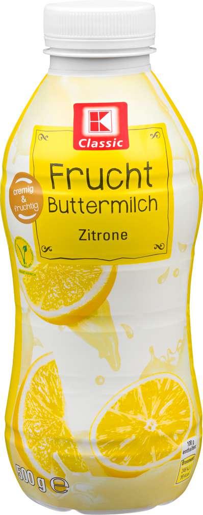 Abbildung des Sortimentsartikels K-Classic Fruchtbuttermilch Zitrone 500g