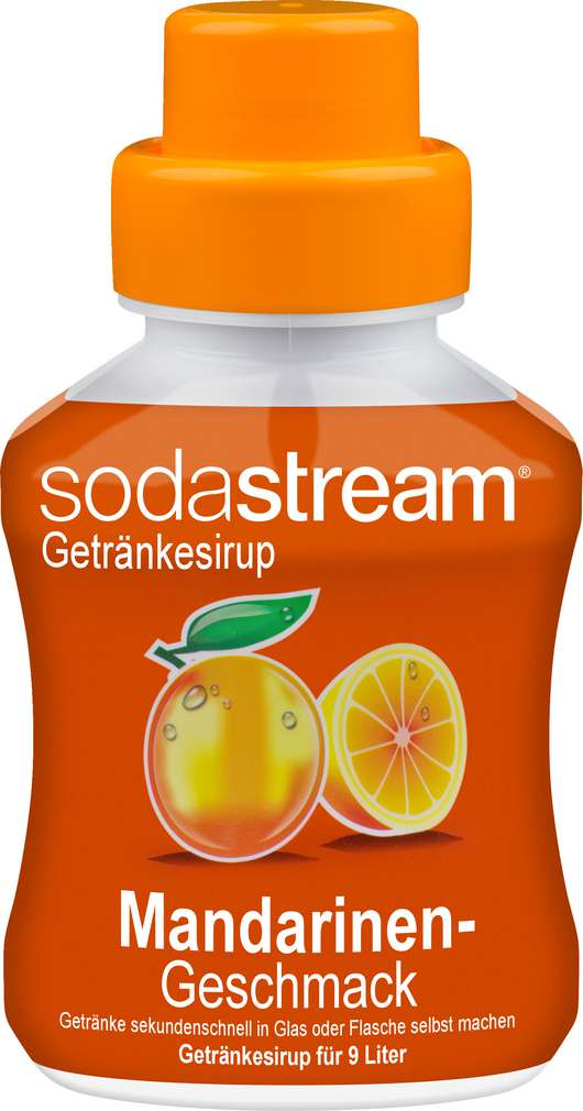 Abbildung des Sortimentsartikels SodaStream Sirup Mandarin Sun 375ml