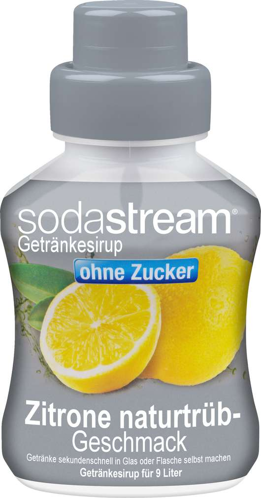 Abbildung des Sortimentsartikels SodaStream Sirup Zitrone light 375ml