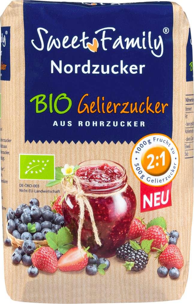 Abbildung des Sortimentsartikels Nordzucker Bio-Gelierzucker 2:1 500g