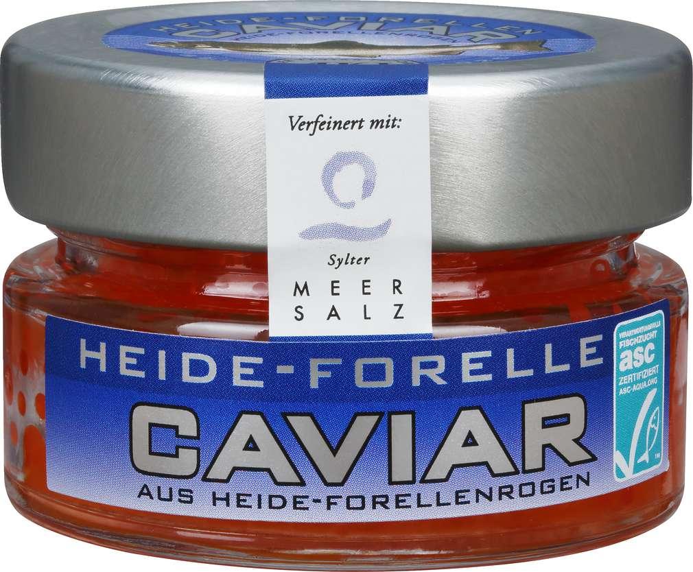 Abbildung des Sortimentsartikels Aki Heide Forelle Caviar ASC-zertifiziert 50g