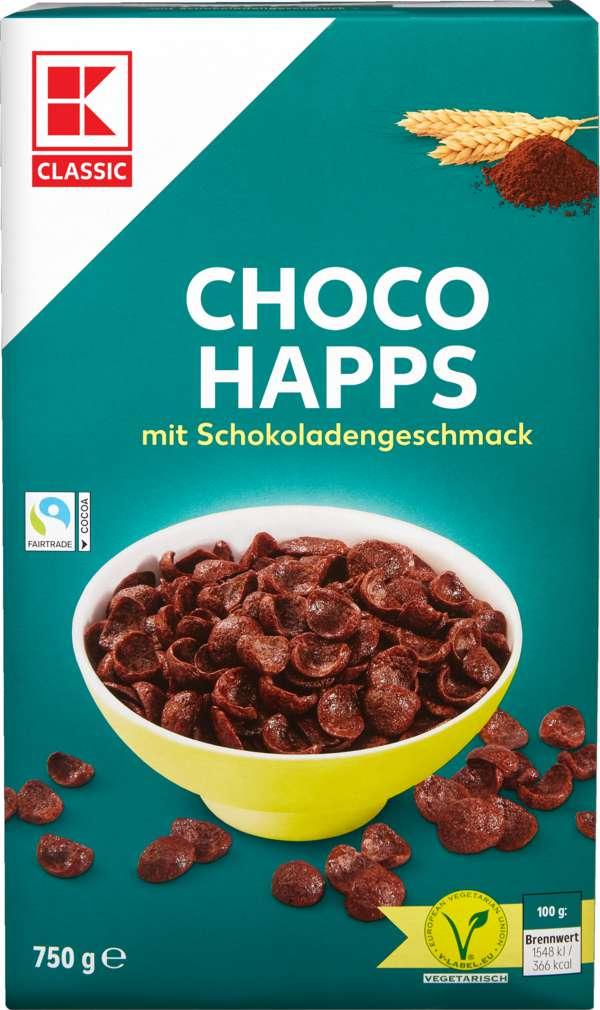 Abbildung des Sortimentsartikels K-Classic Choco Happs 750g