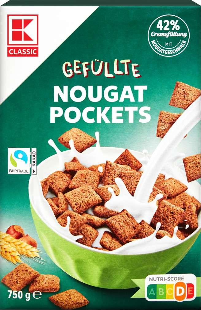 Abbildung des Sortimentsartikels K-Classic Nougat Pockets 750g