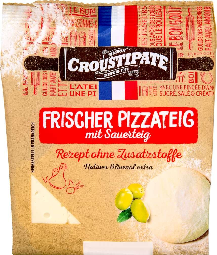 Abbildung des Sortimentsartikels Croustipâte frischer Pizzateig aus Sauerteig 400g