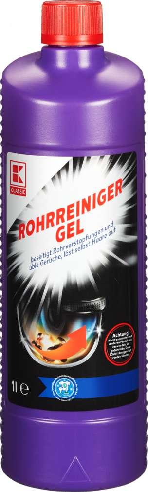 Abbildung des Sortimentsartikels K-Classic Rohrreiniger Gel 1,0l