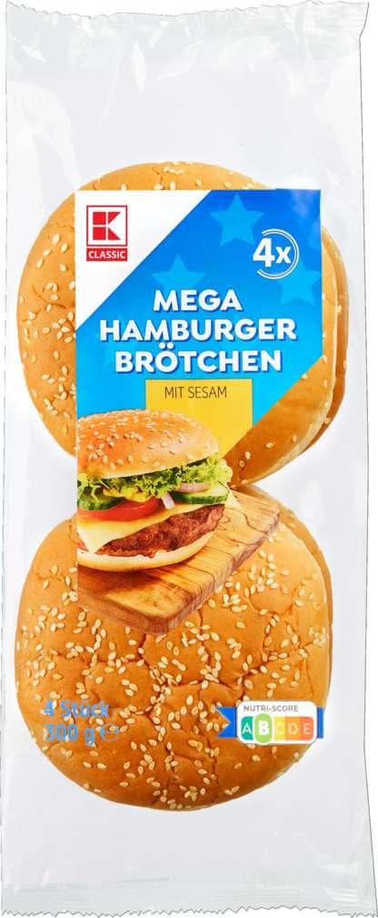 Abbildung des Sortimentsartikels K-Classic Hamburger Sesam XXL 300g