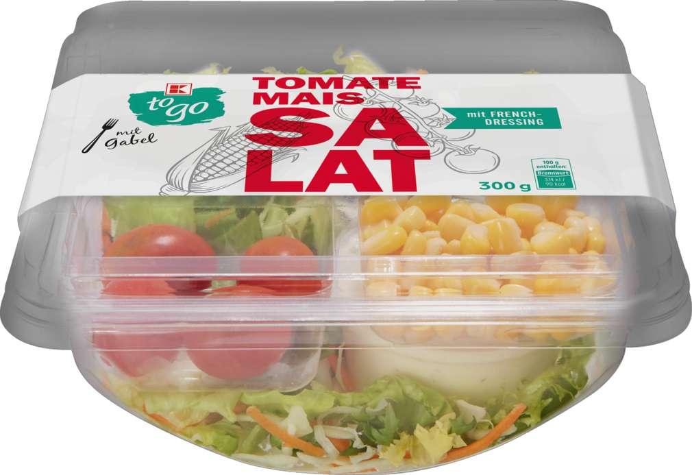 Abbildung des Sortimentsartikels K-To Go Salat Tomate Mais 300g