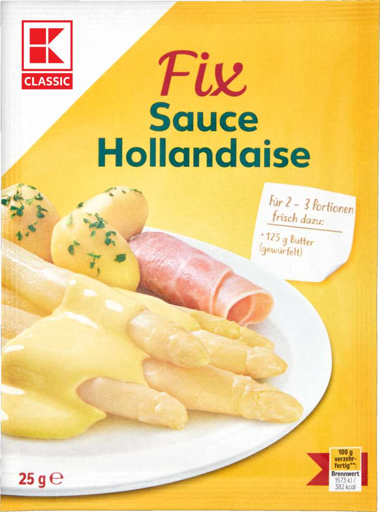 Abbildung des Sortimentsartikels K-Classic Fix für Sauce Hollandaise 25g