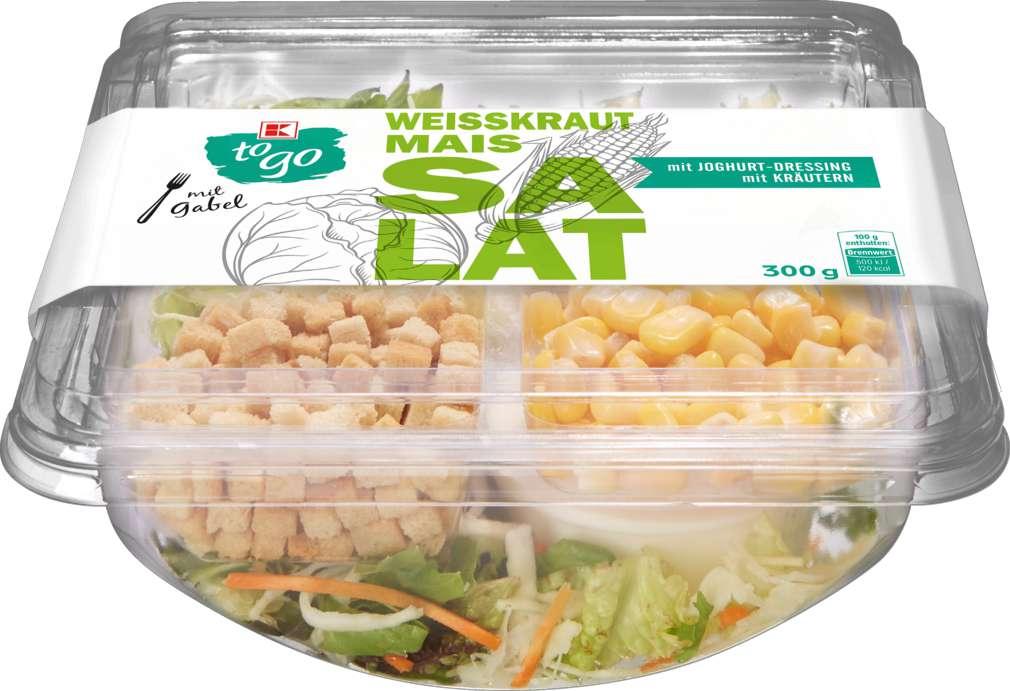 Abbildung des Sortimentsartikels K-To Go Salat Kraut Mais 300g