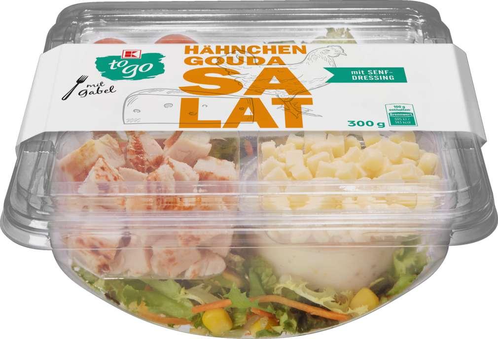 Abbildung des Sortimentsartikels K-To Go Salat Hähnchen Käse 300g
