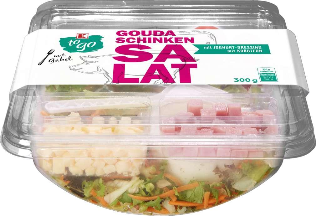Abbildung des Sortimentsartikels K-To Go Salat Schinken Käse 300g