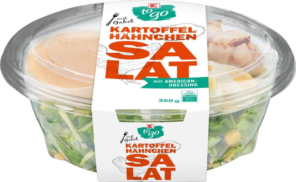 Abbildung des Sortimentsartikels K-To Go Salat Kartoffel Hähnchen 350g