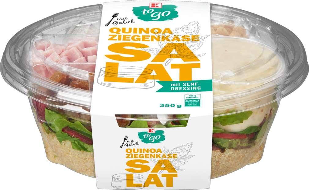 Abbildung des Sortimentsartikels K-To Go Salat Quinoa Schinken 350g