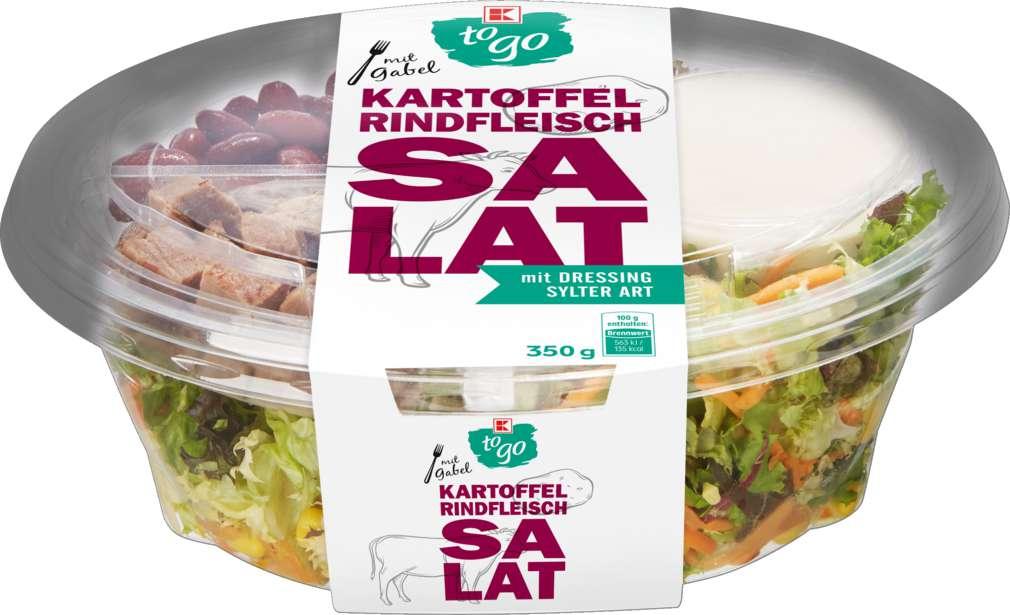 Abbildung des Sortimentsartikels K-To Go Salat Kartoffel Rind 350g