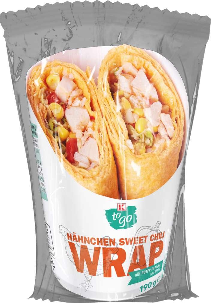 Abbildung des Sortimentsartikels K-To Go Wrap Hähnchen Sweet-Chili 190g