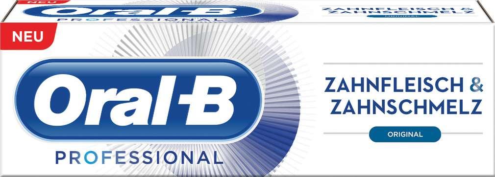 Abbildung des Sortimentsartikels Oral-B Zahncreme Professional Original 75 ml