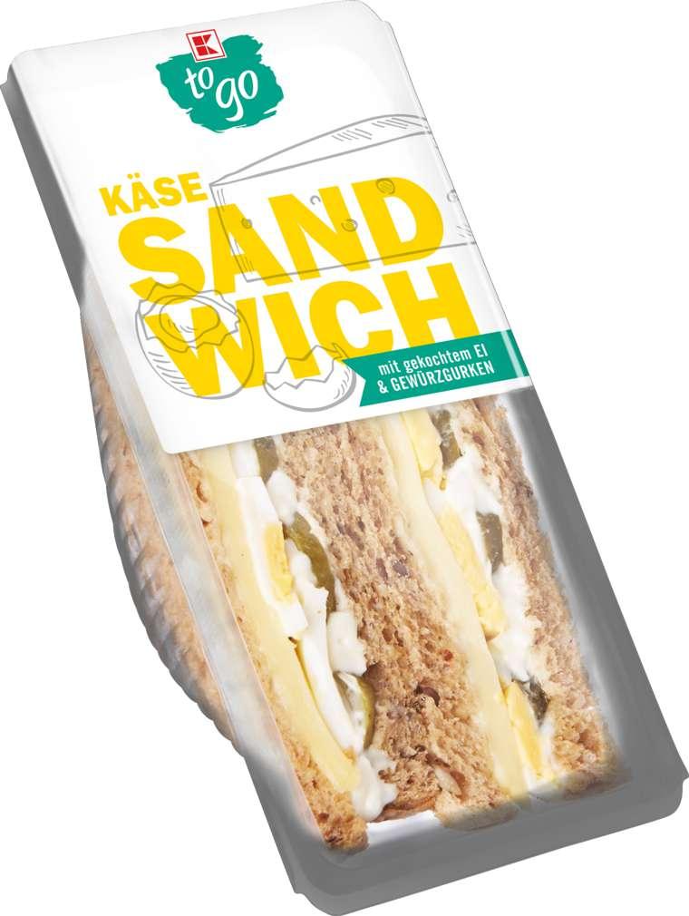 Abbildung des Sortimentsartikels K-To Go Sandwich Käse 185g