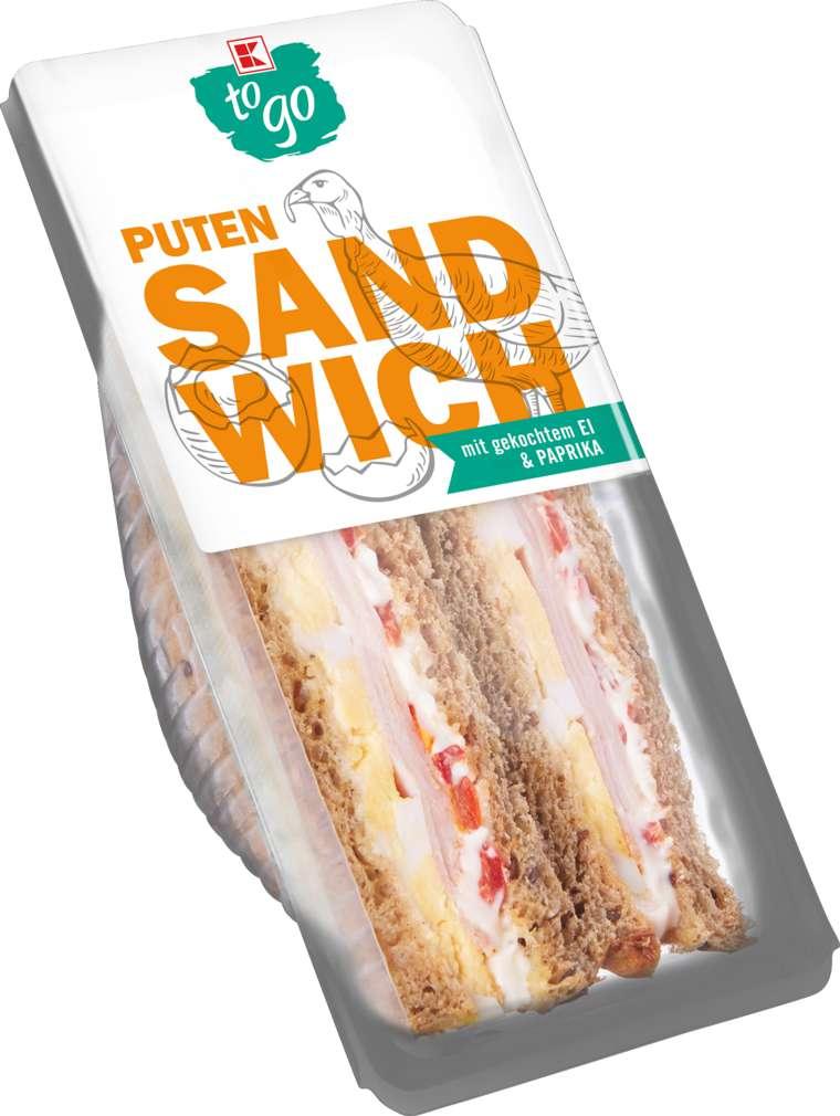 Abbildung des Sortimentsartikels K-To Go Sandwich Pute-Ei 185g