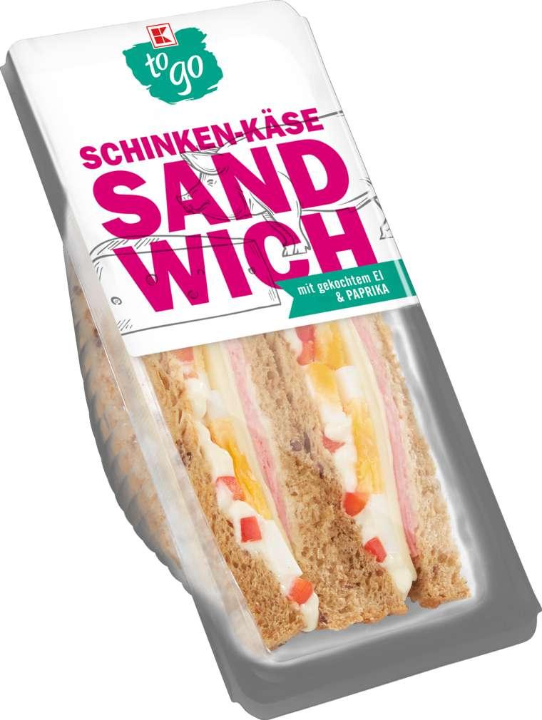 Abbildung des Sortimentsartikels K-To Go Sandwich Schinken-Käse 185g