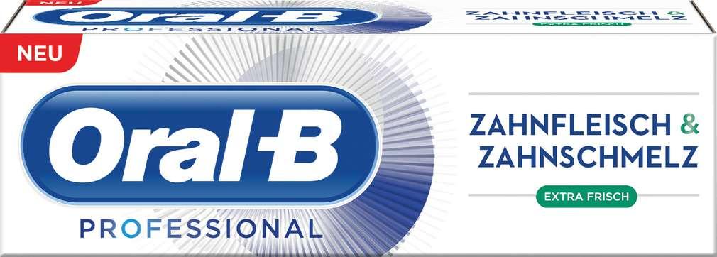 Abbildung des Sortimentsartikels Oral-B Zahncreme Professional Extra Frisch 75ml