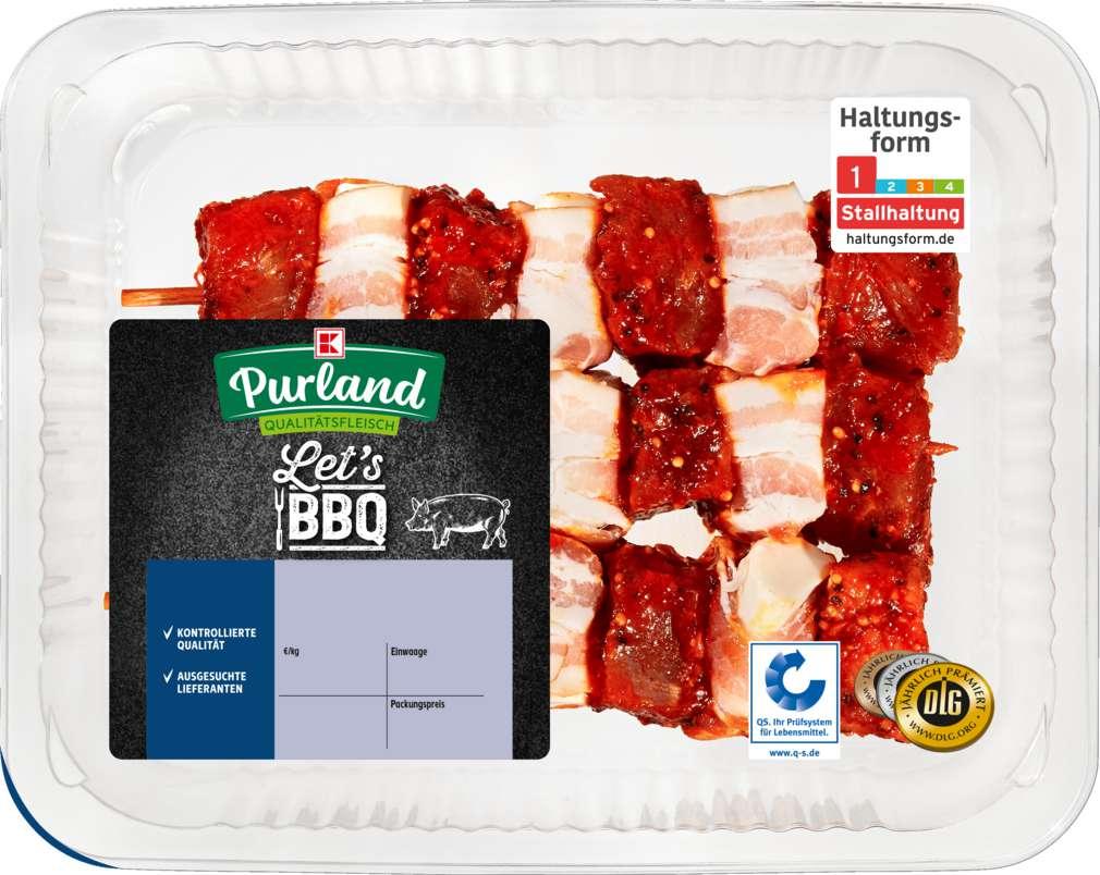 Abbildung des Sortimentsartikels K-Purland Let´s BBQ Gourmet-Spieß vom Schwein