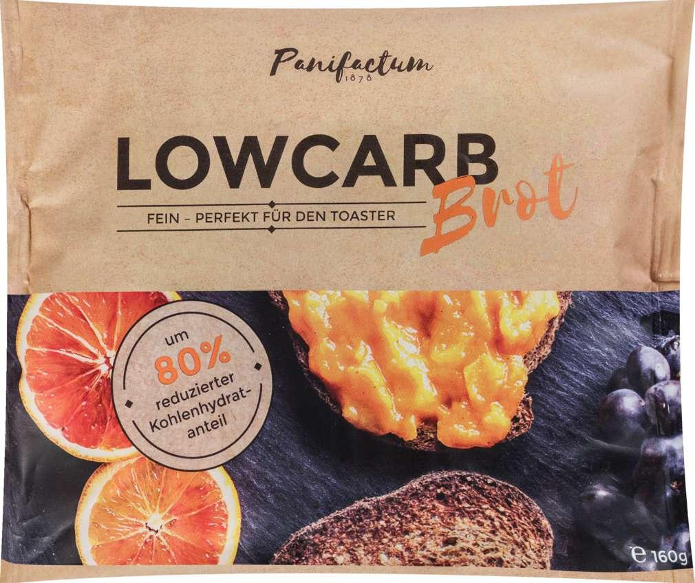 Abbildung des Sortimentsartikels Lowcarb Bio-Brot fein 160g