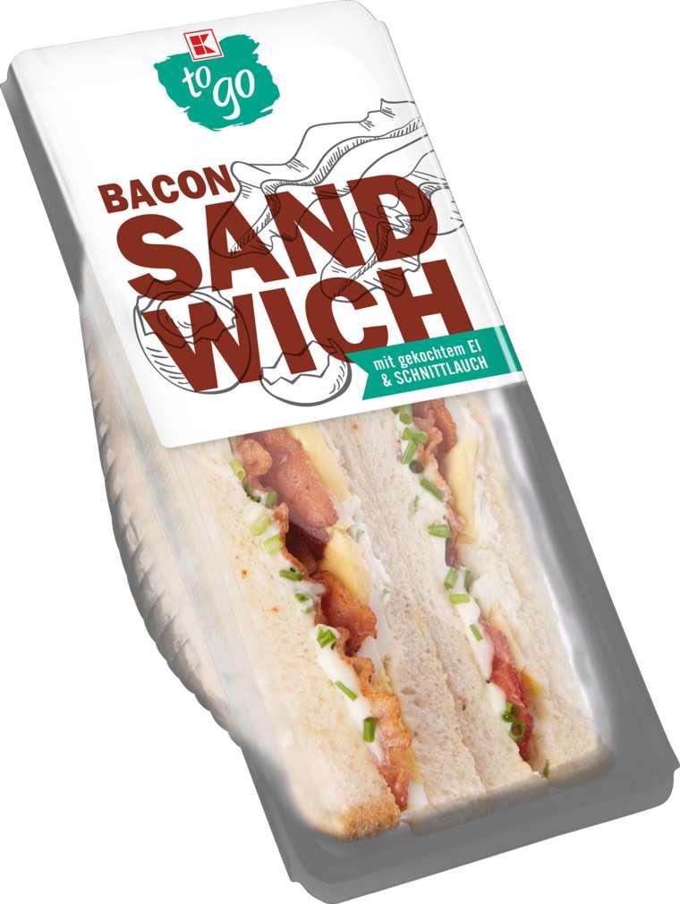 Abbildung des Sortimentsartikels K-To Go Sandwich Speck-Ei-Kräuter 185g