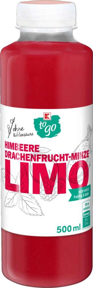 Abbildung des Sortimentsartikels K-To Go Drachenfrucht-Himbeere Limonade 500ml
