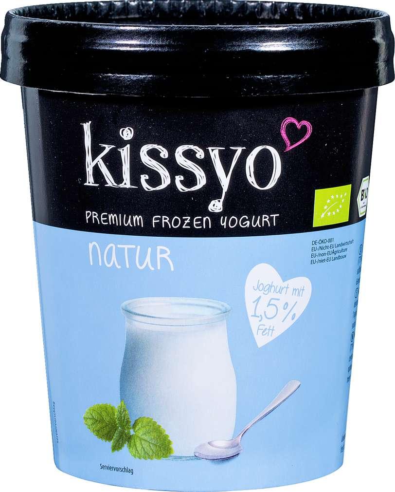 Abbildung des Sortimentsartikels Kissyo Bio Frozen Joghurt natur 500ml
