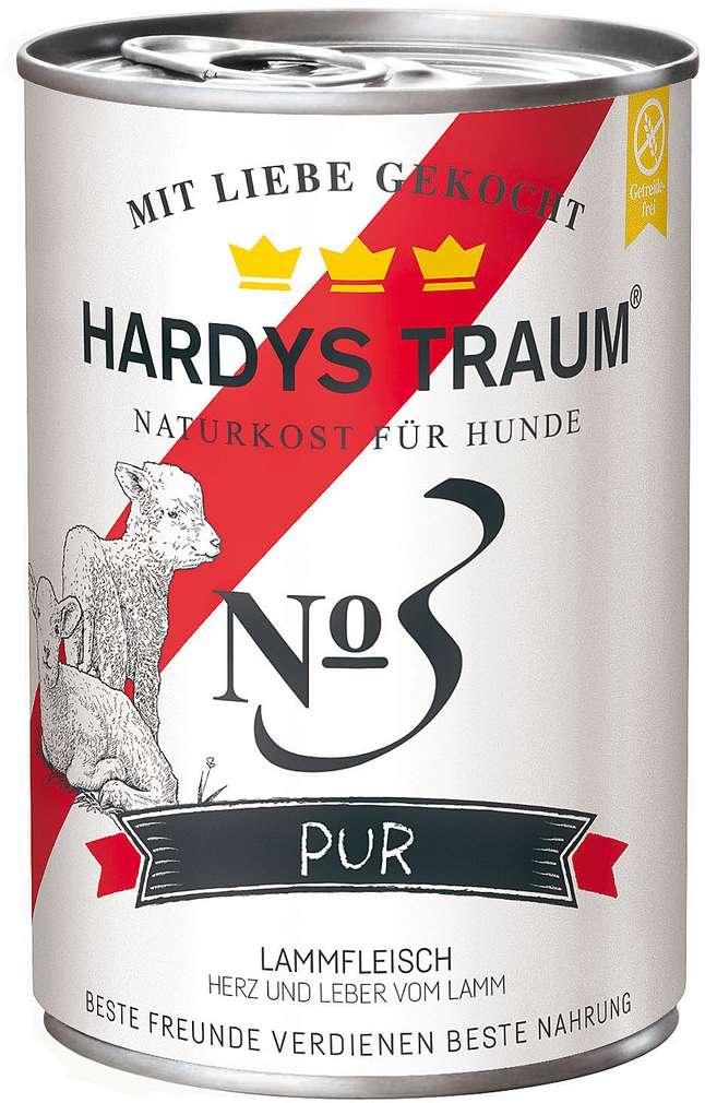 Abbildung des Sortimentsartikels Hardys Pur No.3 Lamm 400g