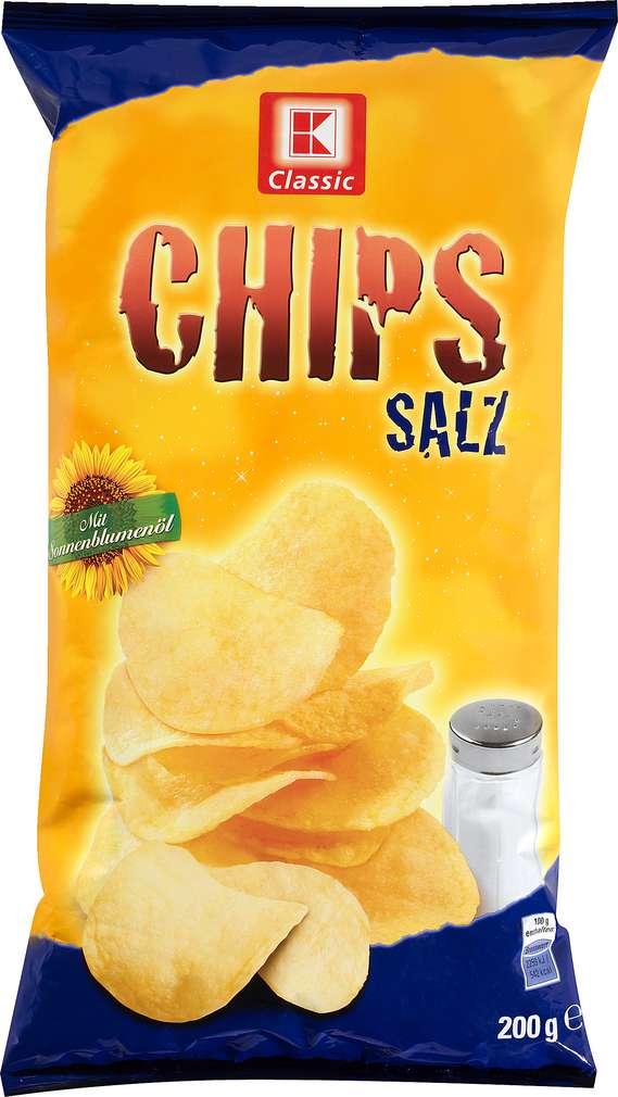 Abbildung des Sortimentsartikels K-Classic Kartoffelchips Salz 200g