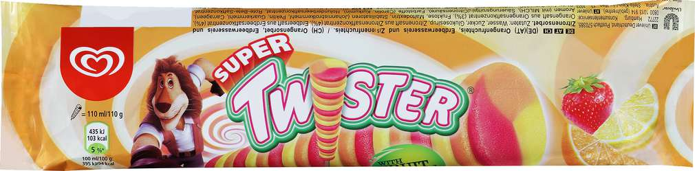 Abbildung des Sortimentsartikels Langnese Super Twister 110ml