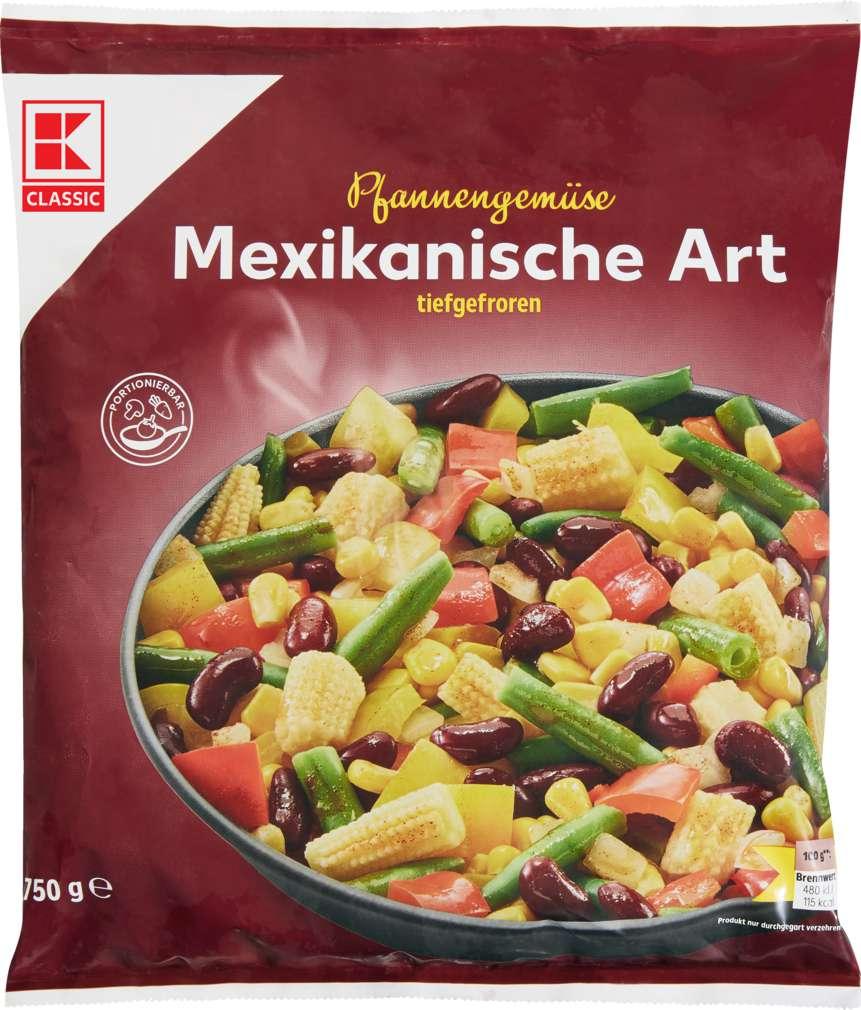 Abbildung des Sortimentsartikels K-Classic Pfannengemüse Mexicanische Art 750g