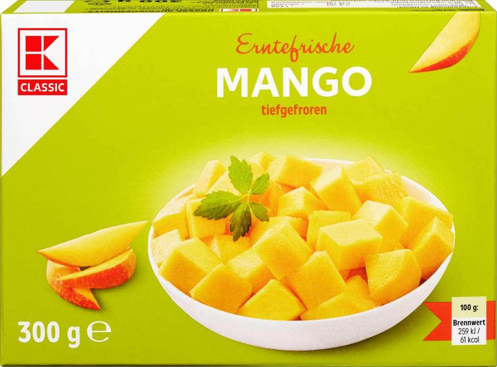 Abbildung des Sortimentsartikels K-Classic Mango gewürfelt 300g