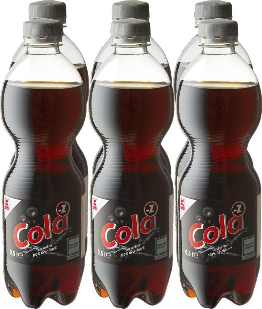 Abbildung des Sortimentsartikels K-Classic Cola Zero 6x0,5l