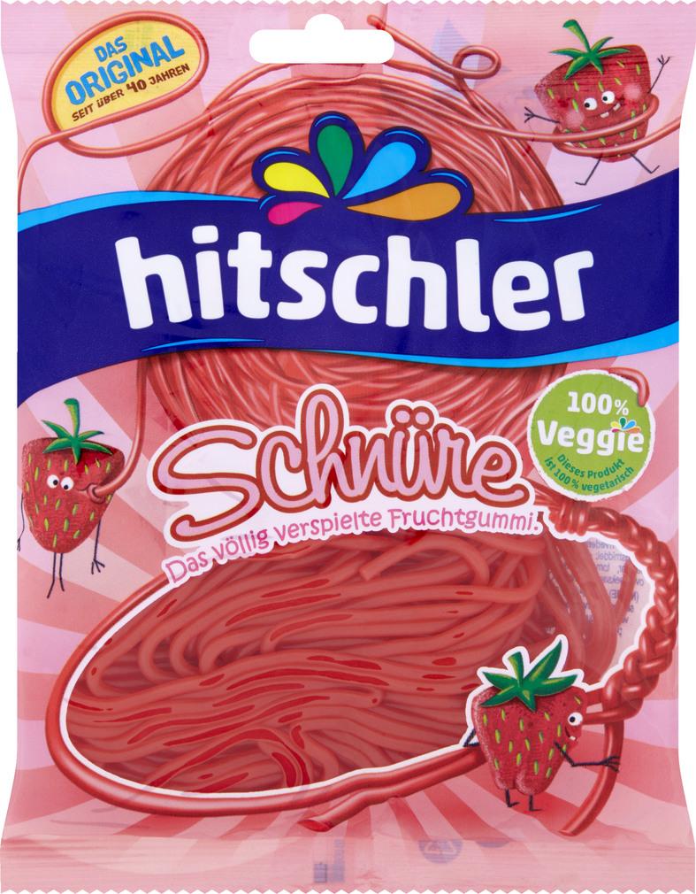Abbildung des Sortimentsartikels Hitschler Erdbeer Schnüre 125g