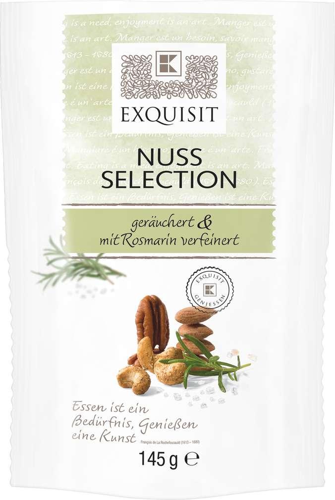 Abbildung des Sortimentsartikels Exquisit Nuss-Selection Rosmarin geräuchert 145g