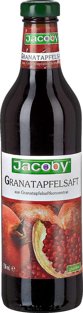 Abbildung des Sortimentsartikels Jacoby Granatapfelsaft 0,75l