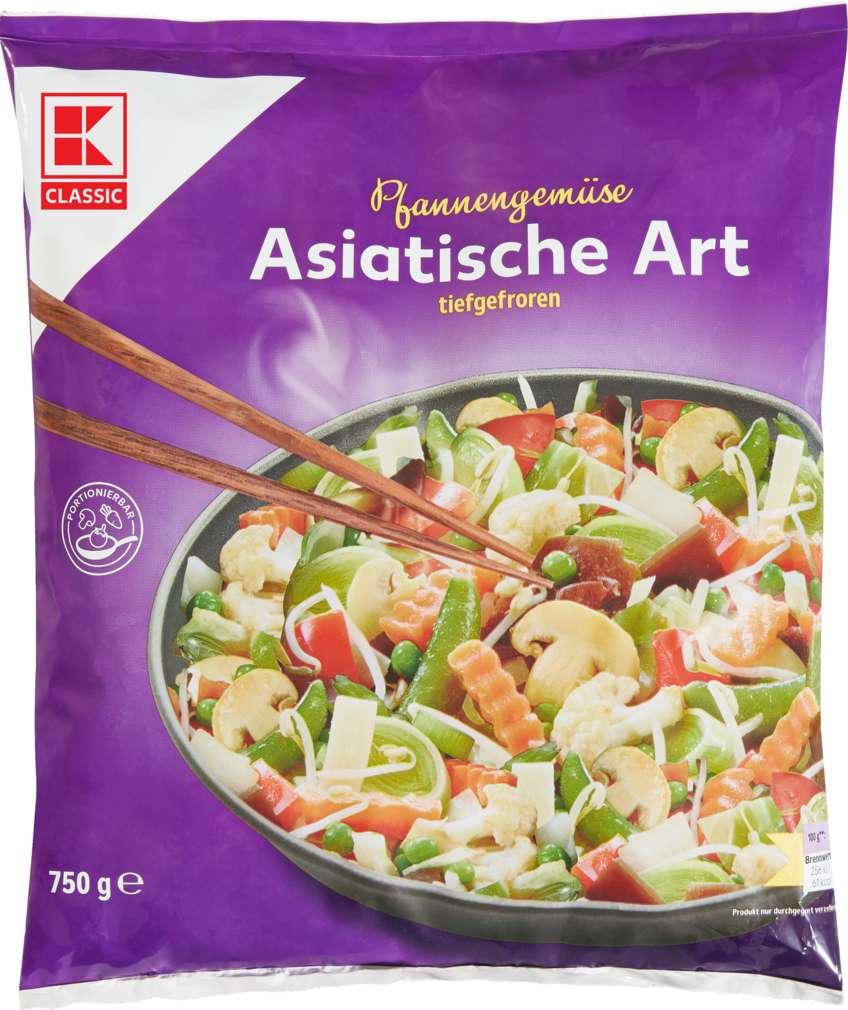 Abbildung des Sortimentsartikels K-Classic Gemüsepfanne Asiatische Art 750g