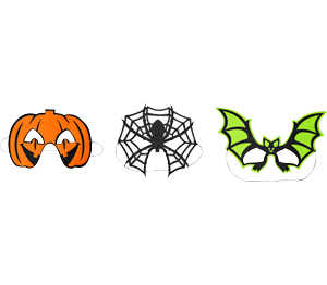 Abbildung des Angebots Halloween-Domino-Maske