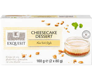 Abbildung des Angebots EXQUISIT Cheesecake-Dessert