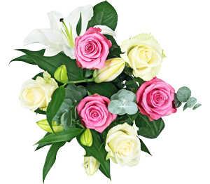 Abbildung des Angebots Rosen-Lilienstrauß