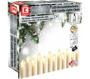 Abbildung des Angebots K-CLASSIC LED-Kerzenlichterkette mit 30 LEDs