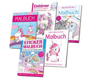 Abbildung des Angebots Malbuch »Einhorn«